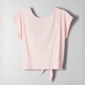 NWT Wilfred Adela T-Shirt In Light Pink